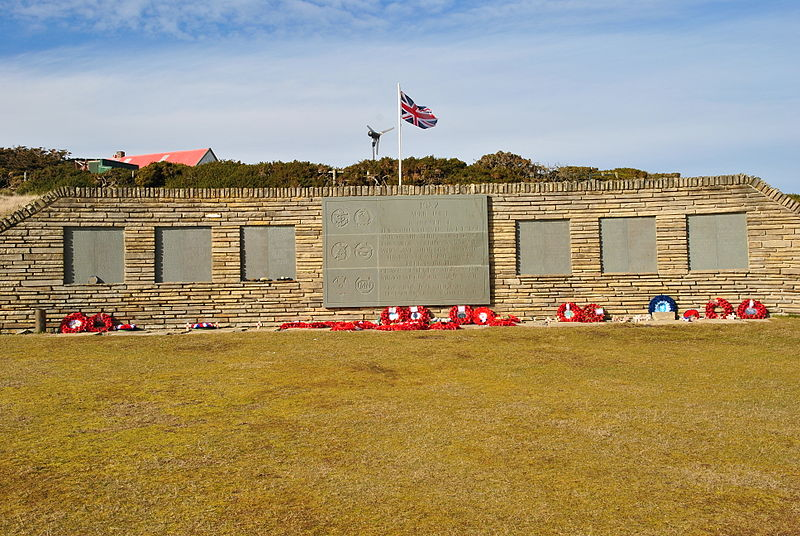 Remembrance Wall Blue Beach Military Cemetery