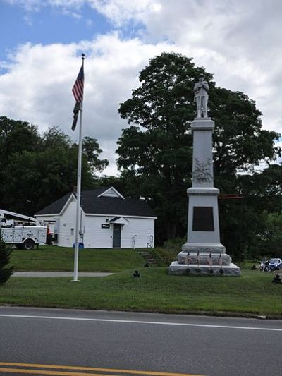 Monument Veteranen Haverhill