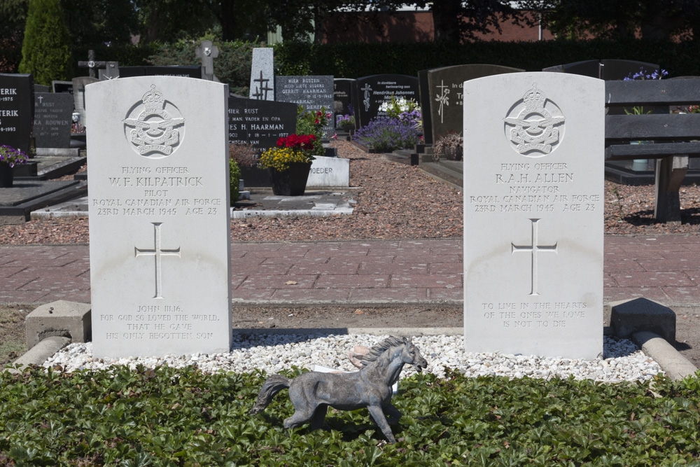 Oorlogsgraven van het Gemenebest Rooms Katholieke Begraafplaats Weerselo