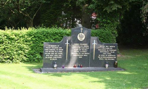 Polish War Memorial Wrexham