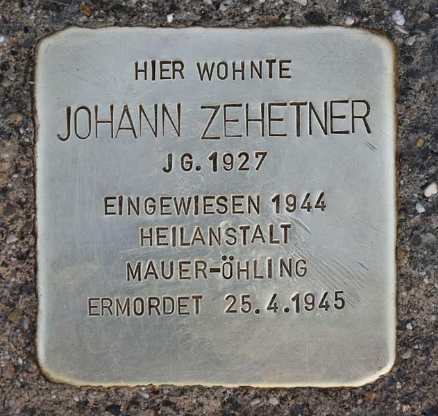 Stolperstein Burgplatz 1