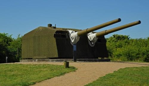 Gun Turrets Gneisenau (Cold-War Museum Stevnsfort)