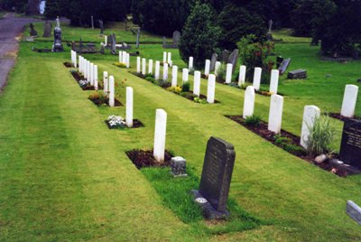 Commonwealth War Graves St. Woolos Cemetery
