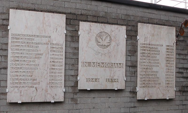 Monument Canadese Soldaten