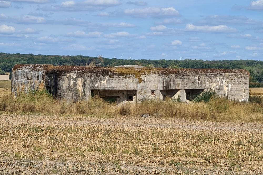 Maginotlinie - Kazemat Halles-sous-les-Côtes