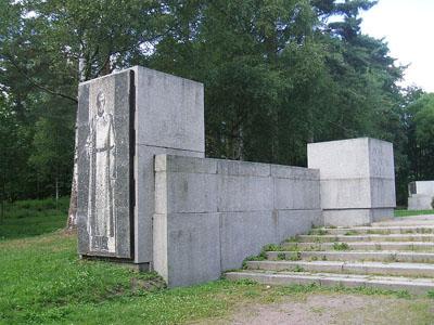 Sovjet Oorlogsbegraafplaats Zelenogorsk