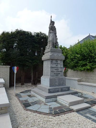 War Memorial Cauchy-à-la-Tour