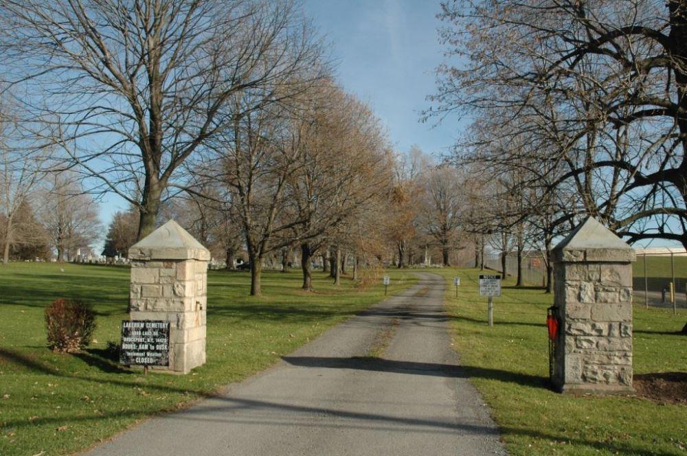 Amerikaans Oorlogsgraf Lakeview Cemetery