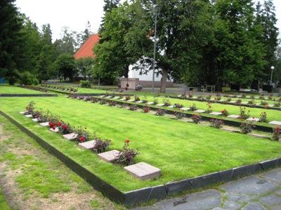 Finse Oorlogsgraven Oulu
