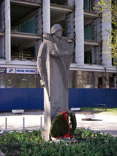 Monument Held van de Sovjet-Unie A.M. Matrosov