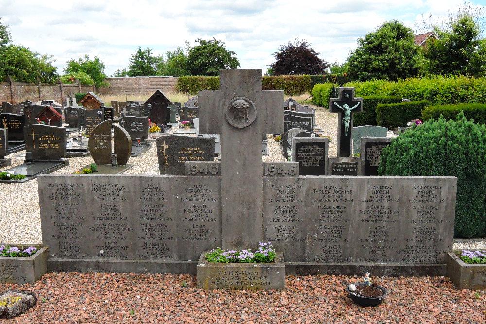 War Memorial and Collective Grave Koningsbosch