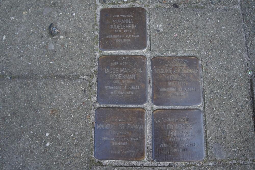 Stumbling Stones Venestraat 2