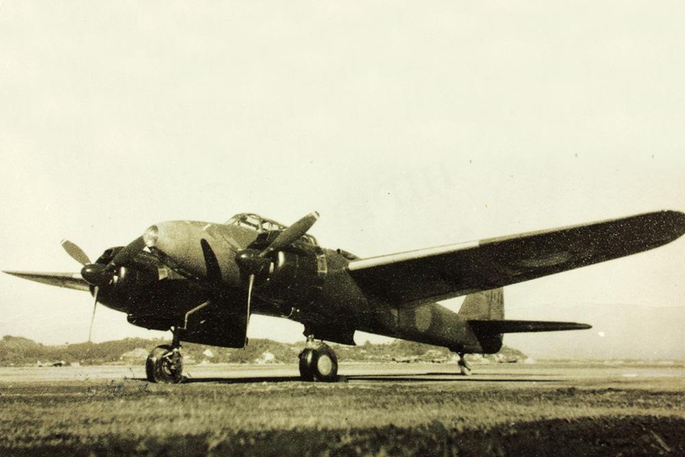 Crashlocatie Nakajima J1N1-C Gekko