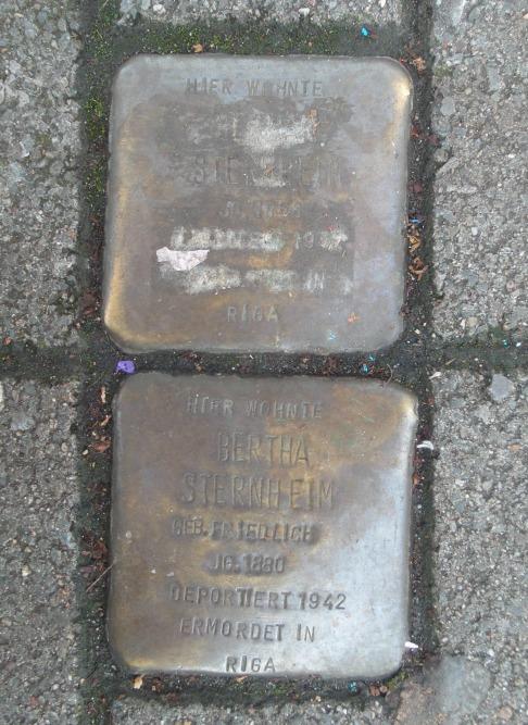 Stolpersteine Brassertstraße 66