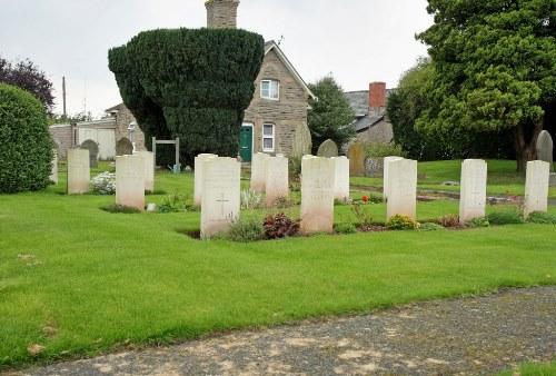 Duitse Oorlogsgraven Hay Cemetery