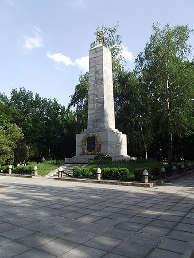 Sovjet Oorlogsbegraafplaats Zhovti Vody