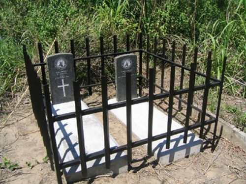 Commonwealth War Graves Dan Pienaar Drive Cemetery