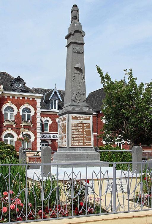 War Memorial Ablain-Saint-Nazaire