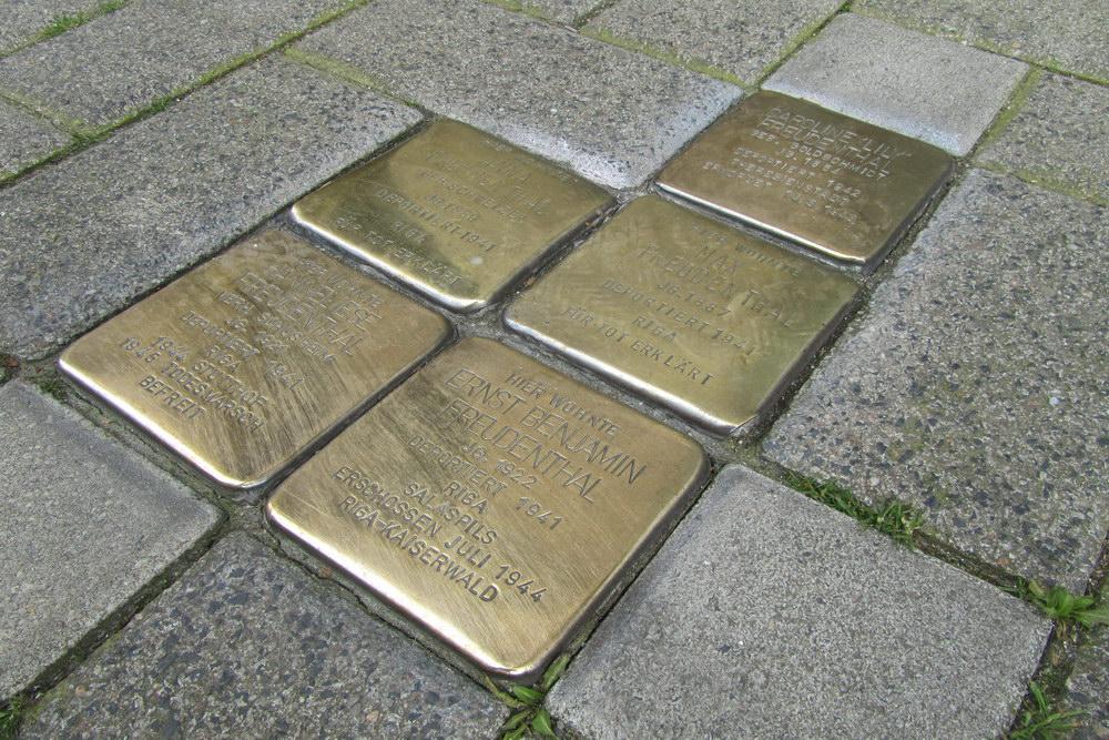 Stolpersteine Friesenwall 96 - 98