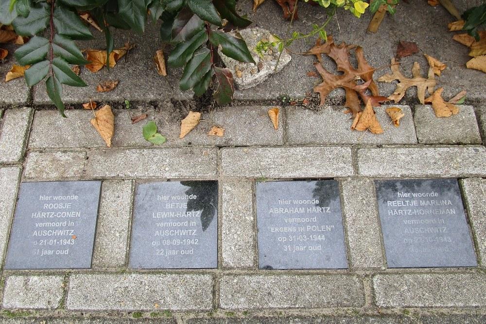 Memorial Stones Albert Hahnstraat 22