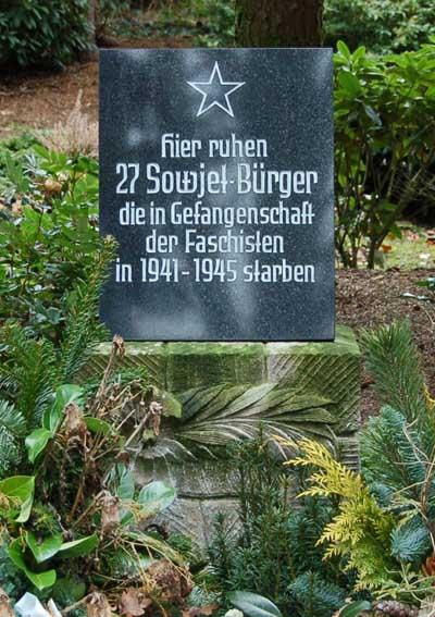 Soviet War Graves Uetersen