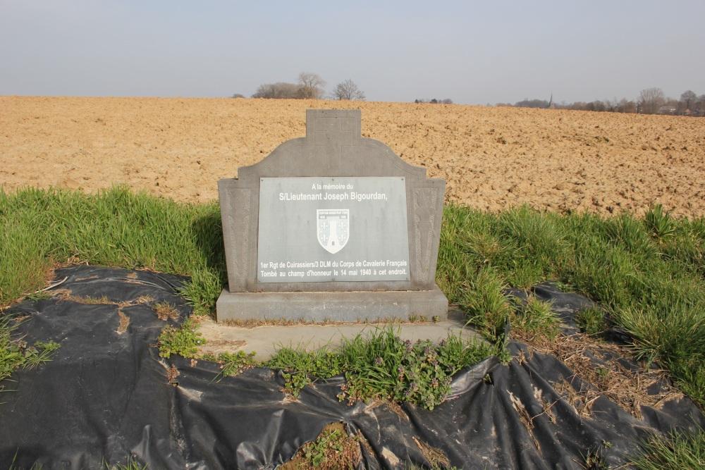 Gedenksteen S/Lt. Joseph Bigourdan