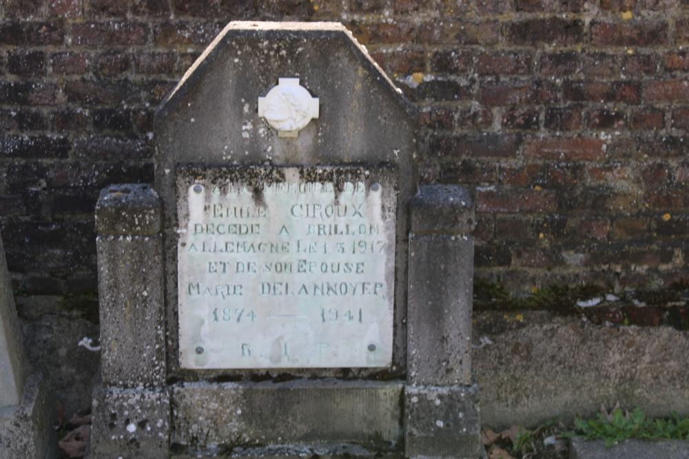 Belgische Oorlogsgraven Dongelberg