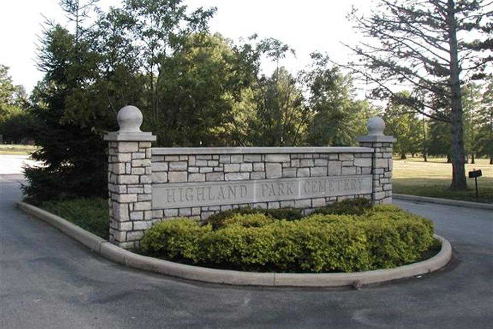 American War Graves Highland Park Cemetery