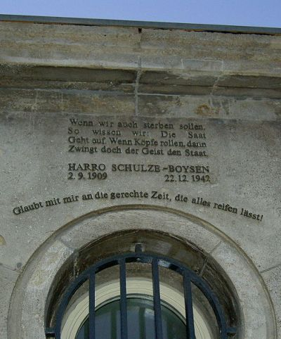 Memorial Harro Schulze-Boysen