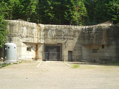Benešovalinie - Fort Bauda