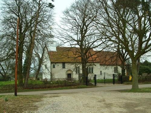Oorlogsgraf van het Gemenebest Barnston Churchyard