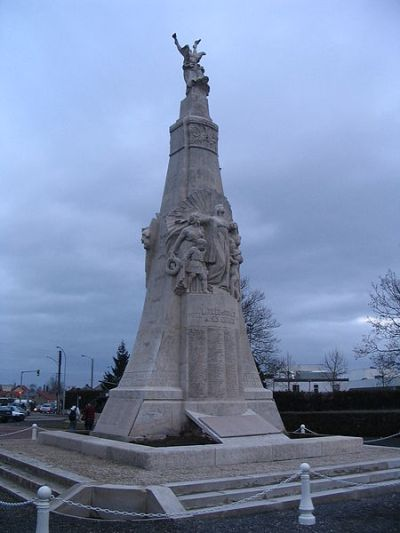 Oorlogsmonument Romilly-sur-Seine