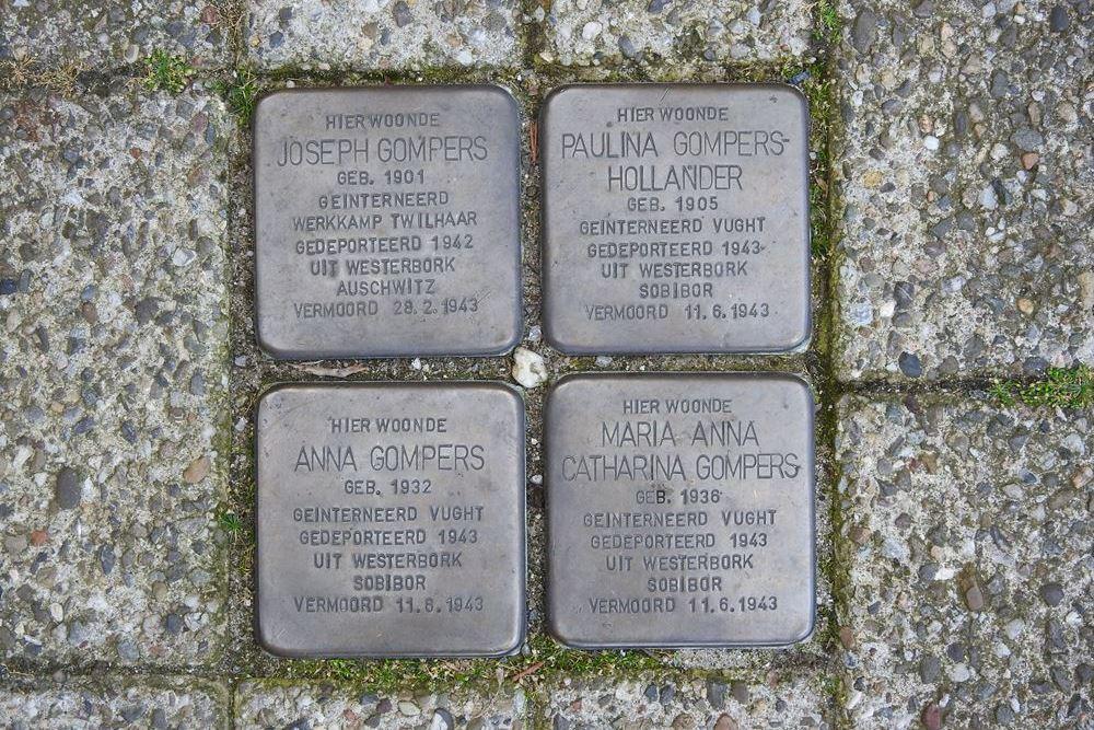 Stumbling Stones Koningsplein