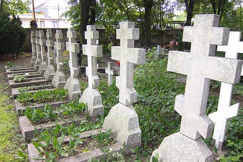 Sovjet Oorlogsgraven Berlin-Tegel