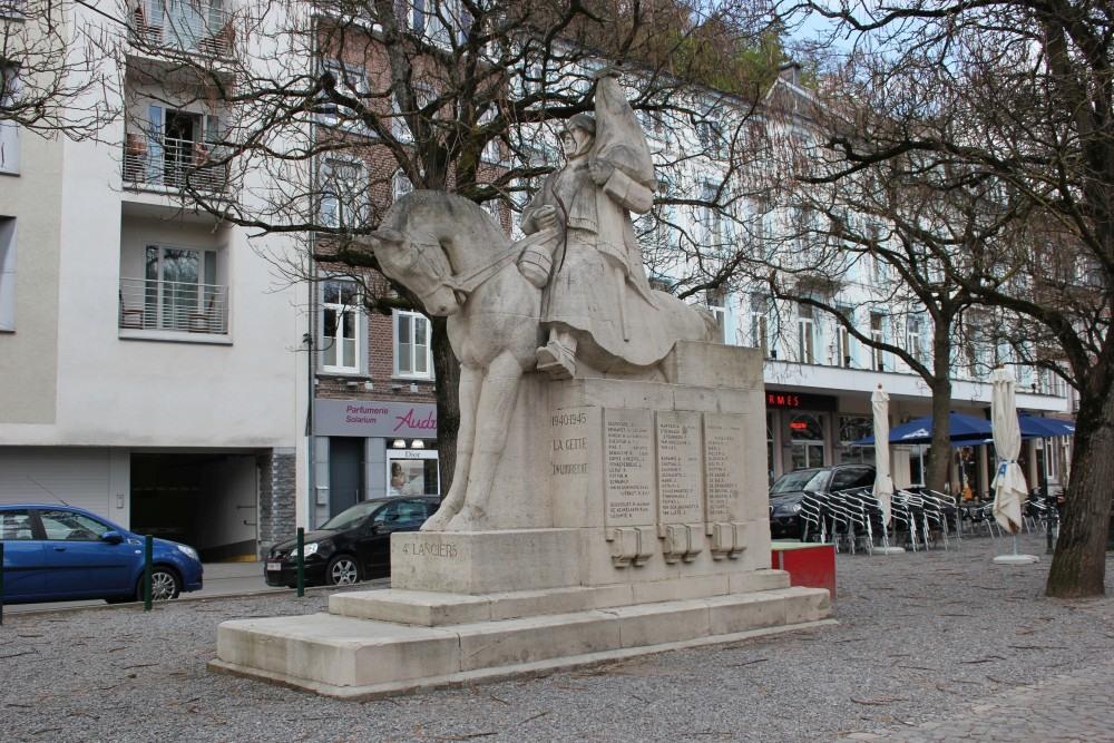 Monument 4de Regiment Lansiers Spa