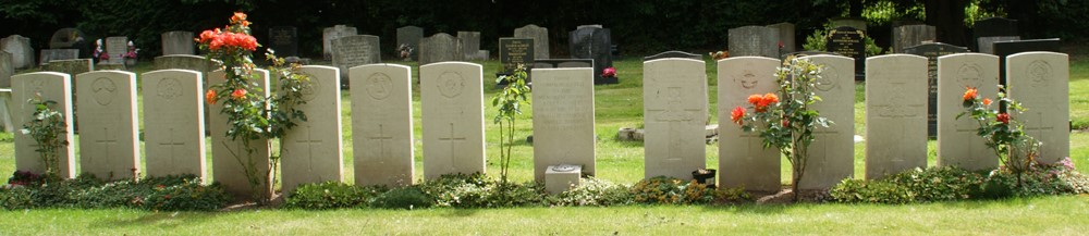 Commonwealth War Graves Newport Cemetery