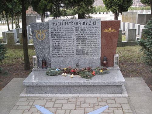 Urnenveld Tsjechoslowaakse RAF Piloten