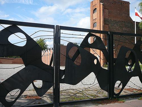 Memorial Memorial Erweitertes Polizeigefangnis Radegast