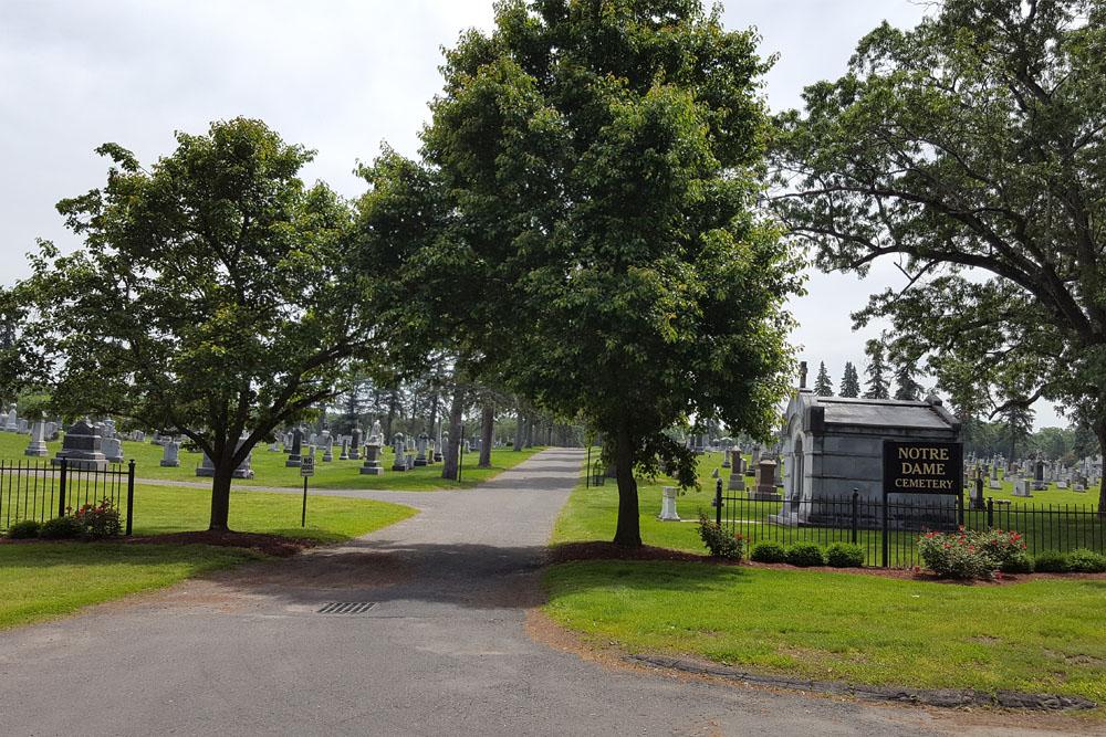 Amerikaanse Oorlogsgraven Notre Dame Cemetery