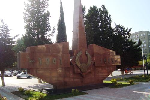 Oorlogsmonument Sumgayit