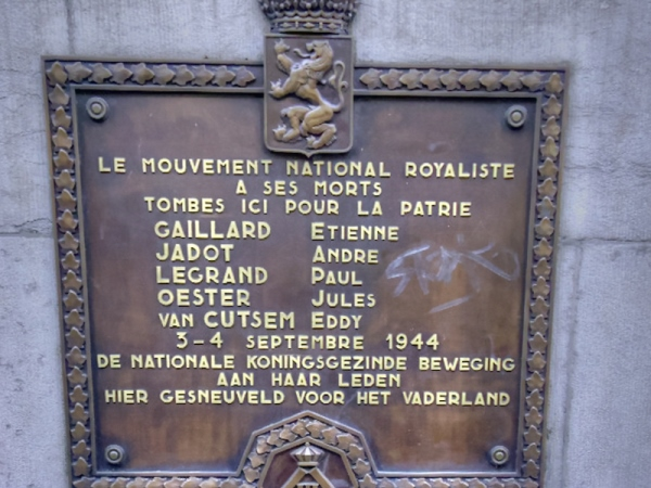 Monument Mouvement National Royaliste