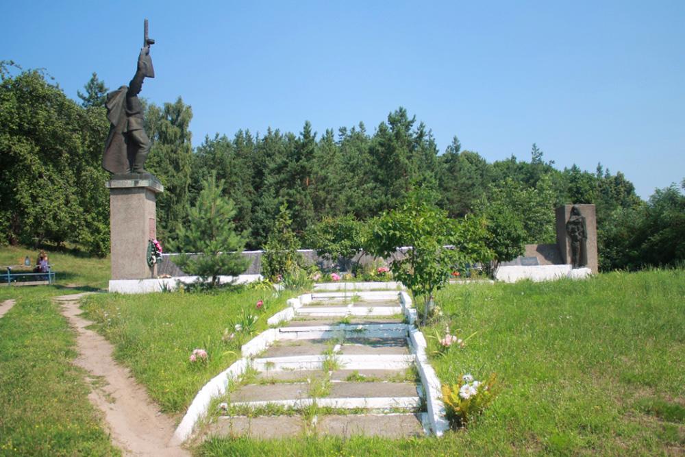 Mass Grave Soviet Soldiers Buchak