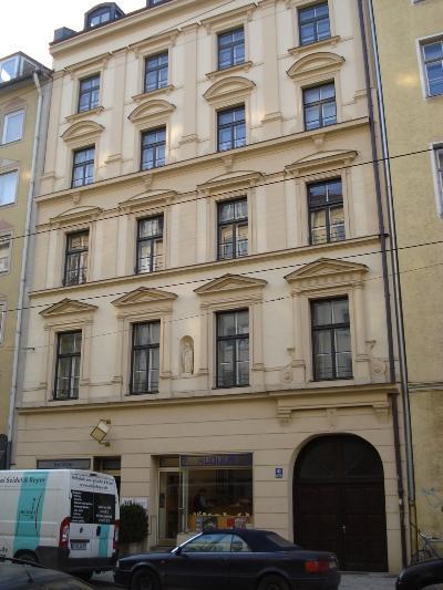 Former Apartment Adolf Hitler