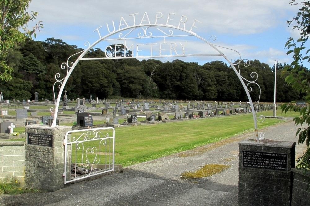 Oorlogsgraven van het Gemenebest Tuatapere Cemetery