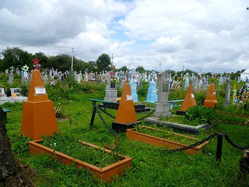 Sovjet Oorlogsgraven Budyatychi