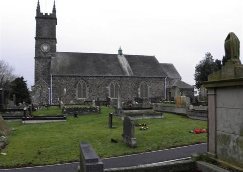 Commonwealth War Grave St. Aidan Church of Ireland Churchyard