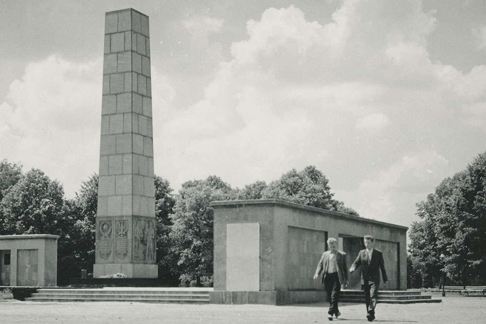 Former Location Liberation Memorial Lodz