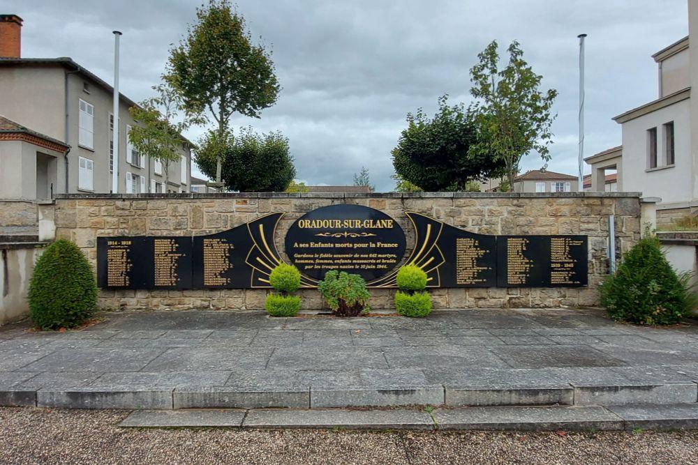 War Memorial Oradour-sur-Glane