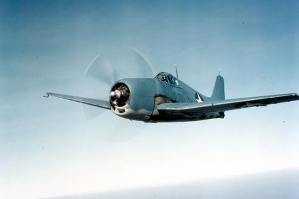 Crashlocatie F6F-3 Hellcat 43041