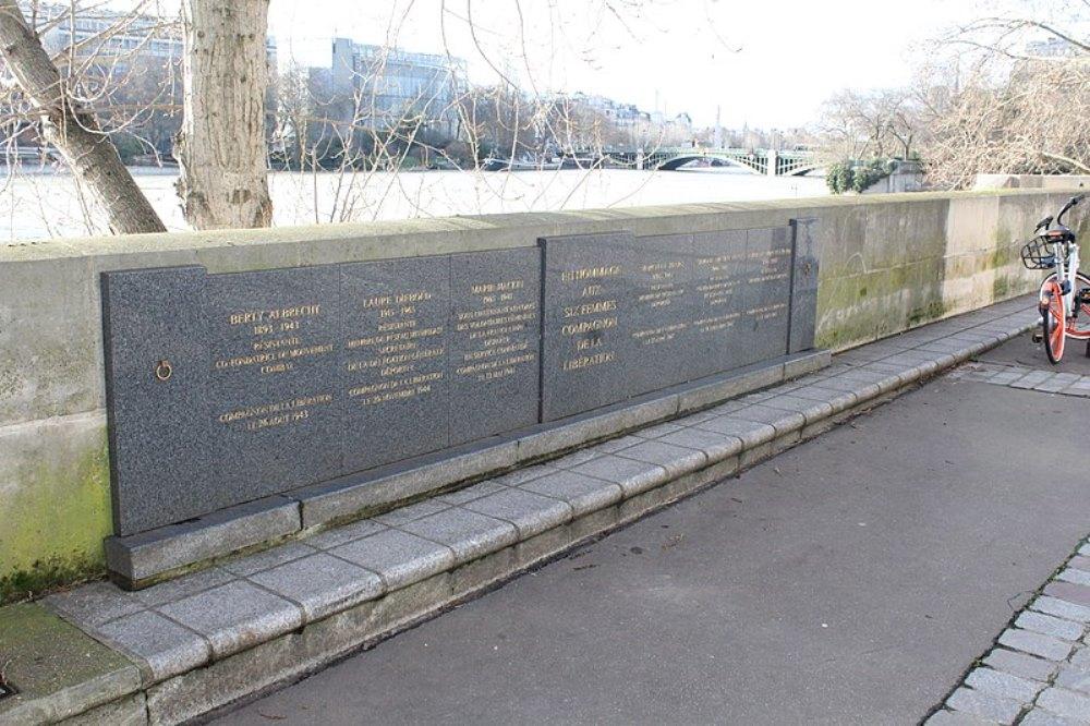 Monument Omgekomen Verzetsvrouwen